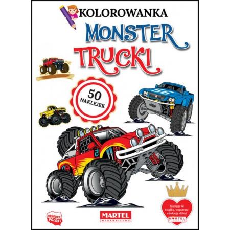 Monster Trucki. Kolorowanki...
