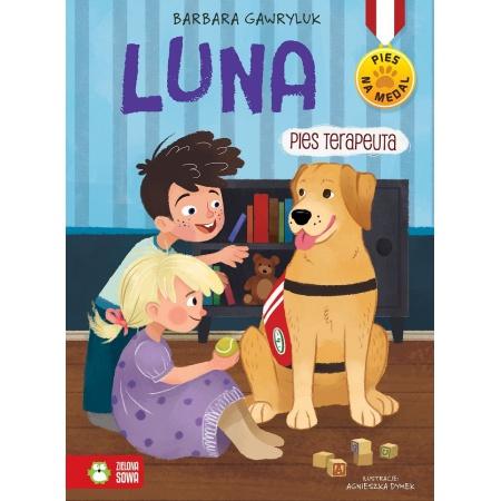 Pies na medal. Luna, pies...
